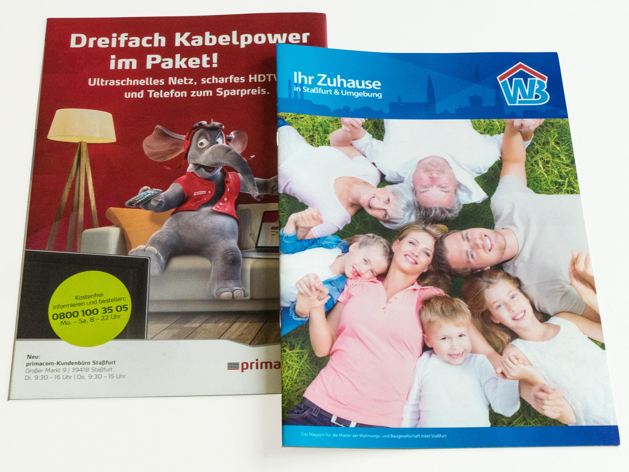 WB Stassfurt Broschüre